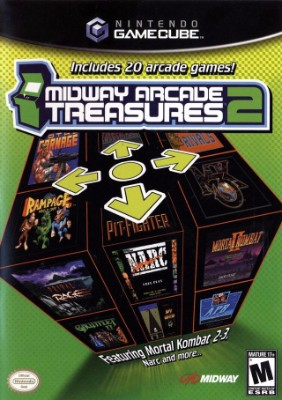 Midway Arcade Treasures Cover Art