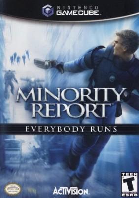 Minority Report: Everybody Runs Cover Art
