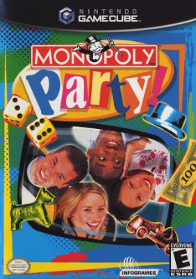 Monopoly Party Cover Art