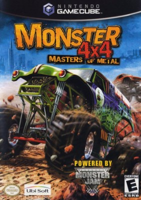 Monster 4x4: Masters of Metal Cover Art