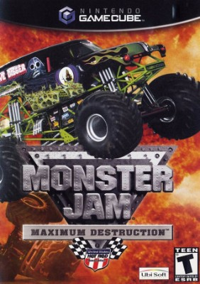 Monster Jam Maximum Destruction Cover Art