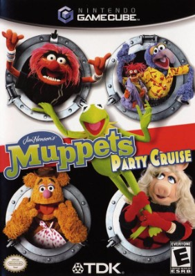 Muppets Party Cruise Cover Art