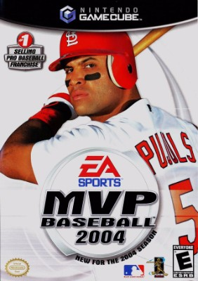 MVP Baseball 2004 Cover Art