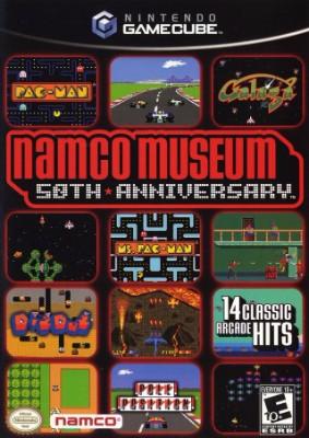 Namco Museum 50th Anniversary Cover Art
