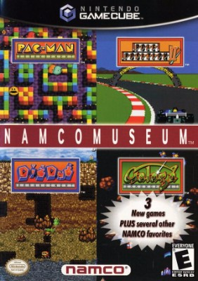 Namco Museum Cover Art