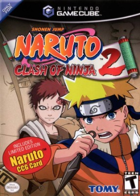 Naruto: Clash of Ninja 2 Cover Art