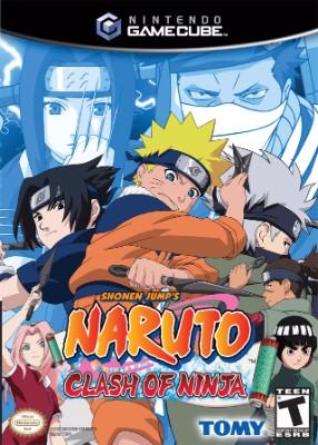 Naruto: Clash of Ninja Cover Art