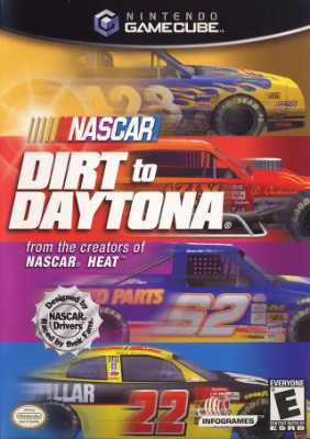 NASCAR: Dirt to Daytona Cover Art