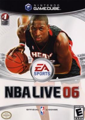 NBA Live 06 Cover Art