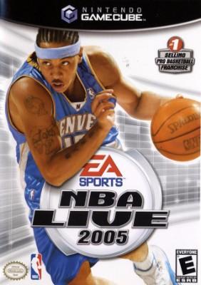 NBA Live 2005 Cover Art