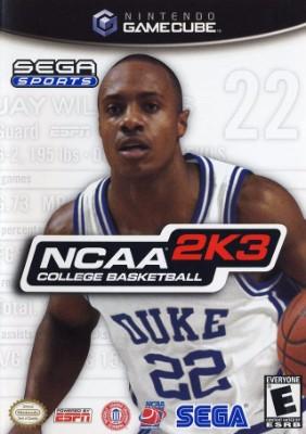 NCAA College Basketball 2K3 Cover Art