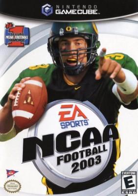 NCAA Football 2003 Cover Art
