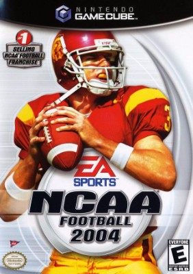 NCAA Football 2004 Cover Art
