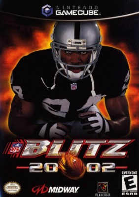 NFL Blitz 2002 Cover Art