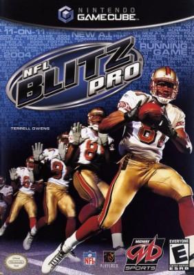 NFL Blitz Pro Cover Art