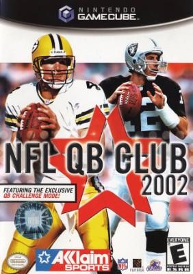 NFL QB Club 2002 Cover Art