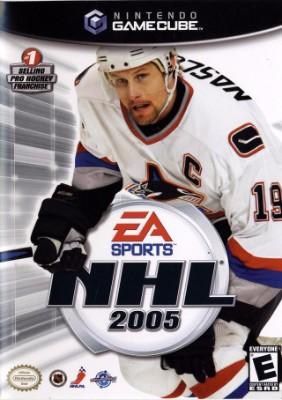 NHL 2005 Cover Art