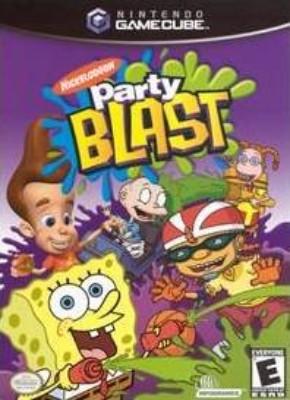 Nickelodeon Party Blast Cover Art