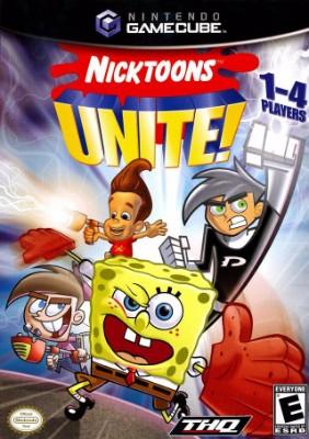 Nicktoons Unite! Cover Art