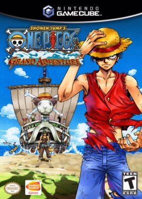 One Piece: Grand Adventure Cover Art
