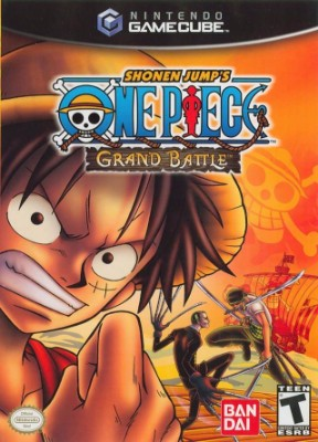 One Piece Grand Battle Cover Art