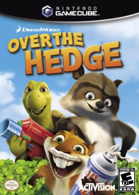 Over the Hedge Cover Art
