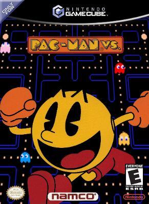 Pac-Man vs. Cover Art