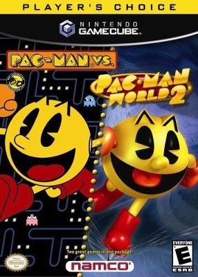 Pac-Man Vs./Pac-Man World 2 Cover Art