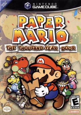 box cover art for Paper Mario: The Thousand-Year Door