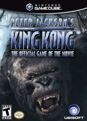 Peter Jackson's King Kong: The Official Game of the Movie Cover Art