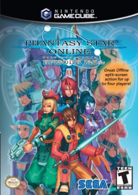 Phantasy Star Online Episode I & II Plus Cover Art