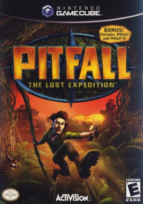Pitfall: The Lost Expedition Cover Art