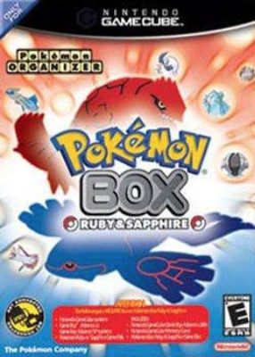 Pokemon Box: Ruby and Sapphire Cover Art