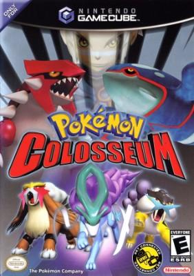 Pokemon Colosseum Cover Art