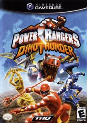 Power Rangers: Dino Thunder Cover Art