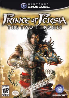 Prince of Persia: The Two Thrones Cover Art