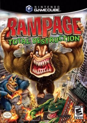 Rampage: Total Destruction Cover Art