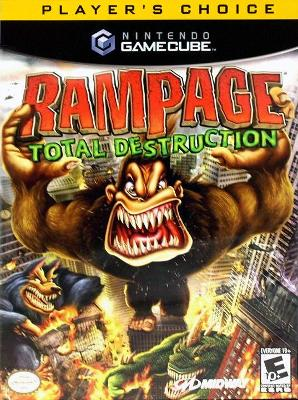 Rampage Total Destruction Player S Choice Value Price Gamecube