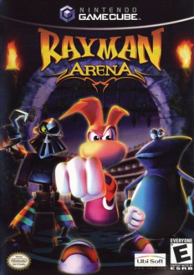 Rayman Arena Cover Art