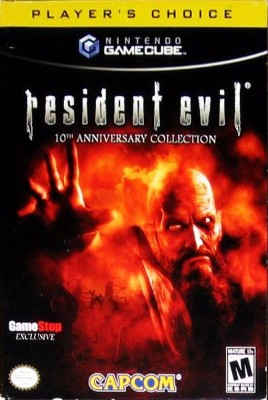 Resident Evil 10th Anniversary Collection Cover Art