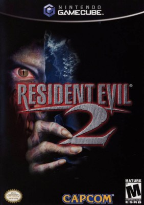 Resident Evil 2 Cover Art