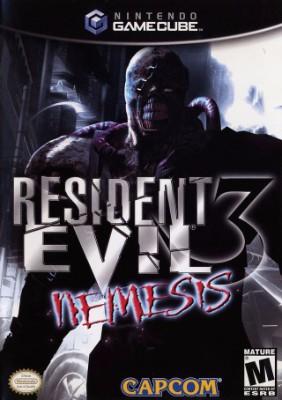 Resident Evil 3: Nemesis Cover Art