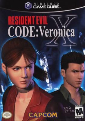 Resident Evil Code: Veronica X Cover Art