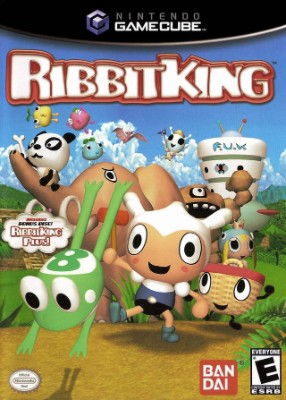 Ribbit King Cover Art
