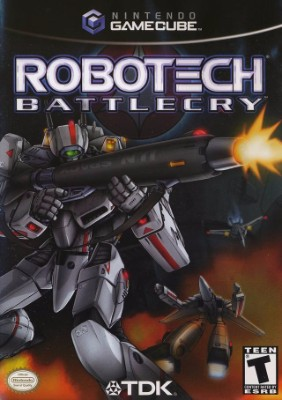 Robotech: Battlecry Cover Art