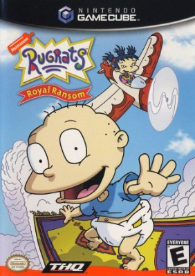 Rugrats: Royal Ransom Cover Art