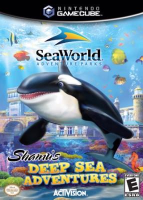 Sea World: Shamu's Deep Sea Adventure Cover Art