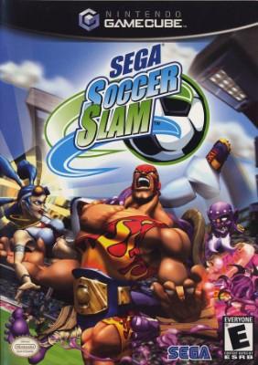 Sega Soccer Slam Cover Art