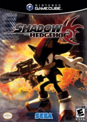 Shadow the Hedgehog Cover Art