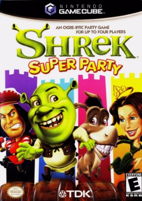 Shrek: Super Party Cover Art
